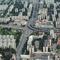 A Flórián tér és környéke légifotóról