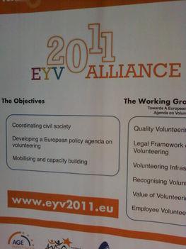 Az Európai Önkéntes Év tájékoztatója