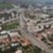 Flórán tér és környéke - légifotó