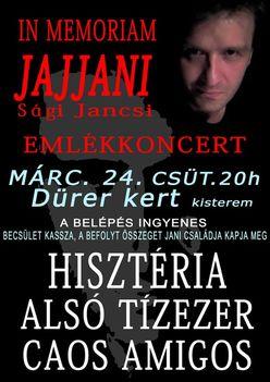 Jani Emlékkoncert