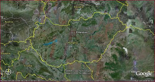 Műhold Térkép