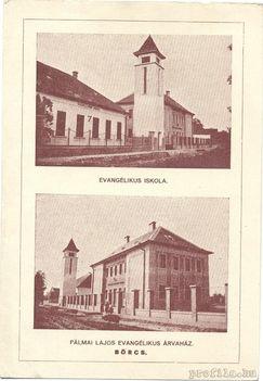 Pálmai Lajos Evangélikus Árvaház Börcs