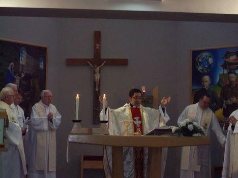 Ünnepi szentmise a kőszegi Szent Imre missziósházban