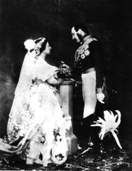Viktória és Albert 1854-ben