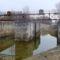 A régi Rajkai zsilip ismét vizet kap a Homoki ágrendszer rehabilitációja során, 2015. február 16.-án
