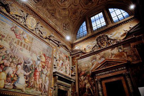 Inside the Vatican's Apostolic Palace