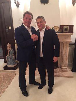 Orbán együtt vacsorázott a Terminátorral