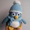 fázós kis pingvin
