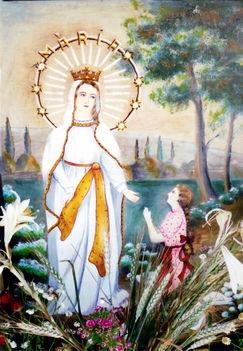 TORNYA festmény a jelenésről