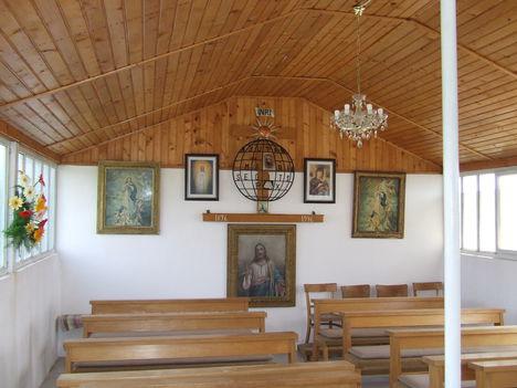 TORNYA kápolna belső