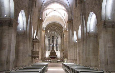 Gyulafehérvári Szent Mihály székesegyház templom belső