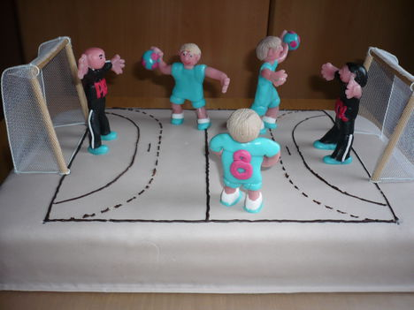 Kézilabda torta fiú szülinapra