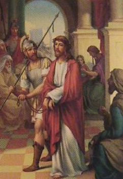 Jézus keresztútja a családban-I. STÁCIÓ