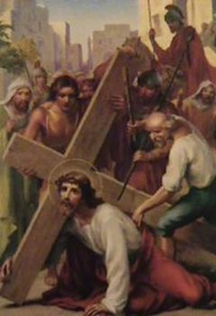 Jézus keresztútja a családban-III. STÁCIÓ