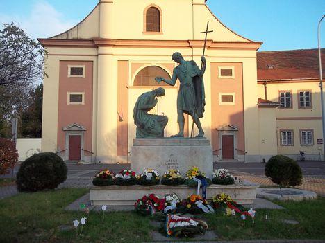Szent Márton templom Szombathelyen.