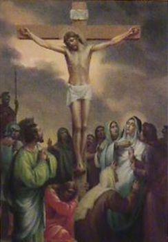 Jézus keresztútja a családban-XII. STÁCIÓ