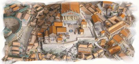 a capitolium dombja az ókorban