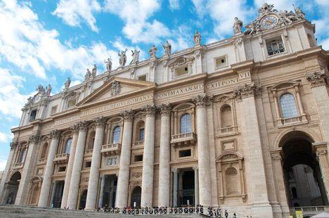 Basilica S. Pietro facade