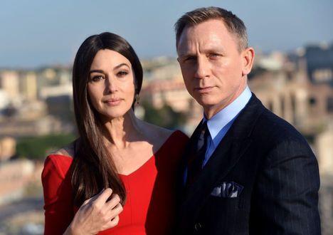 Daniel Craig és Monica Bellucci