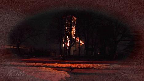 Február-éjjeli-templom