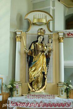 FUTÁSFALVA a csíksomlyói Istenanya szobrának 1750-ben fából készült másolata