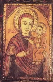 Füzesmikolai kolostor Füzesmikolai Mária-ikon
