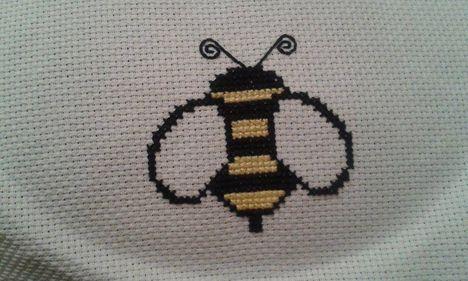 Méhecske keresztszemmel