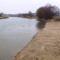 Mosoni-Duna a Halászi Úgói partszakasznál, 2015. február 14.-én 1