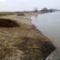 Mosoni-Duna a Halászi Úgói partszakasznál, 2015. február 14.-én 2