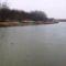 Mosoni-Duna a Halászi Úgói partszakasznál, 2015. február 14.-én 6