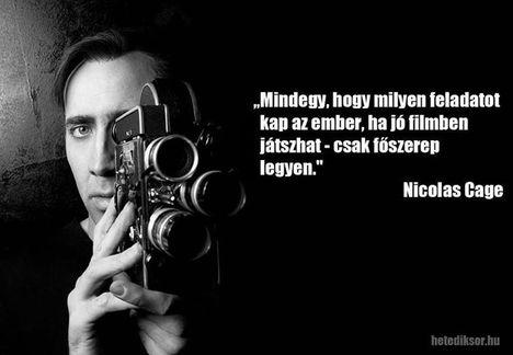 Nic Cage filozófiája