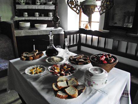 Húsvéti terített asztal