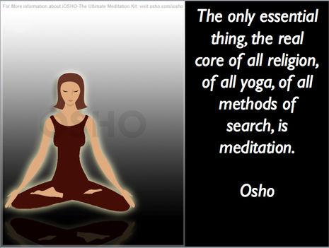 """""""Az egyetlen lényeges dolog – a valódi forrása minden vallásnak, a jógának, az önfelfedezés összes…"""""""