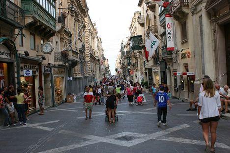 Málta La Valletta_1republikastr