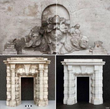 Vatikáni múzeumok bejárat restaurálás