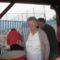 A Piros Rózsa nyugdíjasok lángost sütnek