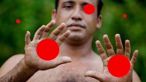 Hány piros pöttyöt látsz a képen?... a valóságról keltett illúzió.