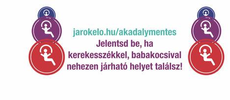 jarokelo.hu - Akadálymentes bejelentések (Rehab Critical Mass)