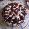 Otthon 2015 Vaniliás epres torta.