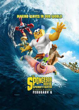 SpongyaBob: Ki a vízből!