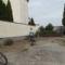 Tereprendezés a templom és a plébánia udvarán 1