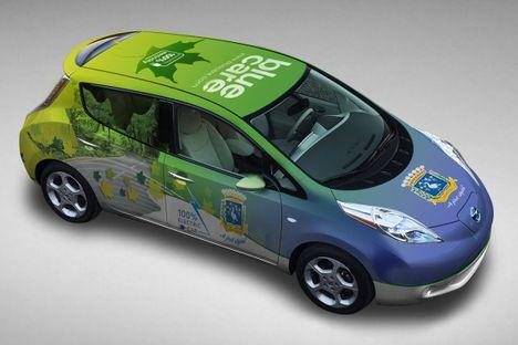 Szikszó az elektromos autózás oldalán - Nissan Leaf