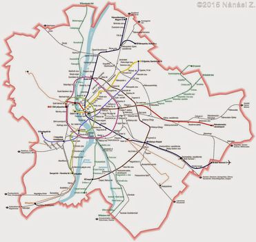 A budapesti metróhálózat a fejlesztési tervek fényében (Nánási Zoltán-regionalbahn)