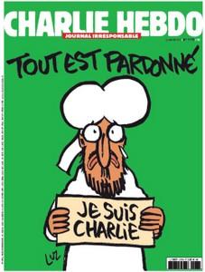 A Charlie Hebdo következő címlapja
