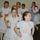 A Kisrózsák néptánccsoport előadása az iskolabálon
