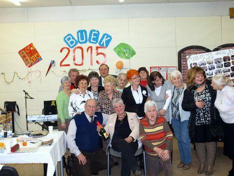 A Zenebarátkör másik kis csoportja a 2015-ös év Jan. első keddjén.