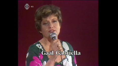 GAÁL  GABRIELLA  1930  -  2010 ..