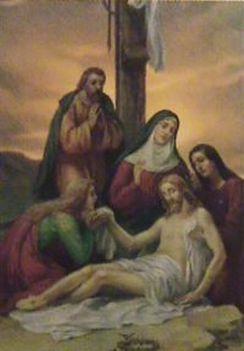 Jézus keresztútja a családban-XIII. STÁCIÓ