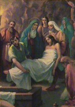 Jézus keresztútja a családban-XIV. STÁCIÓ