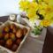 Kisbodaki néphagyomány, tojásfestés hagymahéjjal és büröklevéllel, 2015. április 04.-én